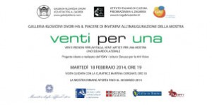 Venti per una: venti regioni per un'Italia; venti artisti per una mostra. Uno sguardo Laterale